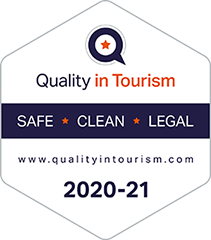 Quality in Tourism badge