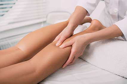 Aaahhh! leg massage