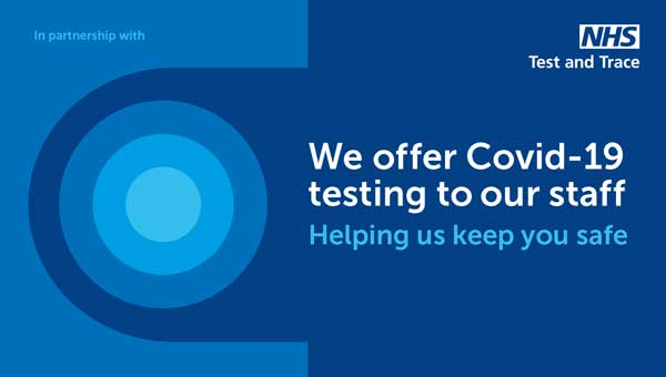 Covid testing for our staff